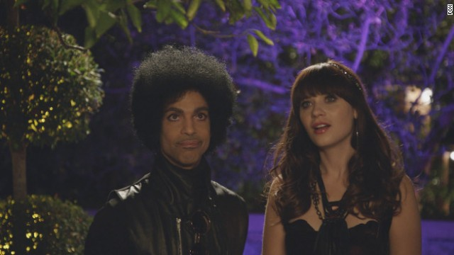 Prince killed it on 'New Girl'