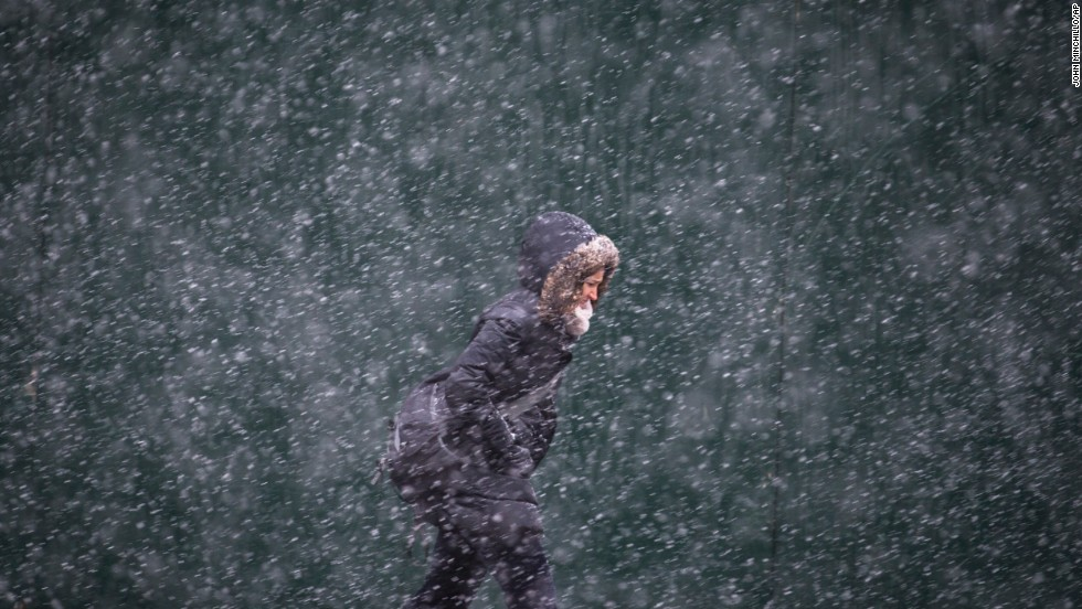 Tormenta de nieve en el noreste de EE.UU.