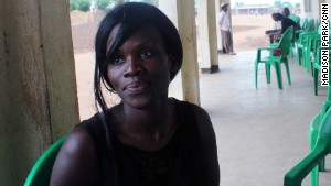 Joyce Mkandawire, an advocate with Girls Empowerment Network Malawi, fights the practice of \