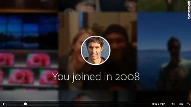 Tu vida en Facebook en 62 segundos
