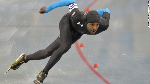 Chicago's ice man Shani Davis is one of the stellar athletes to watch in Sochi. Set your watches for February 12 when the American attempts to make history by winning a third straight Winter Olympic gold.