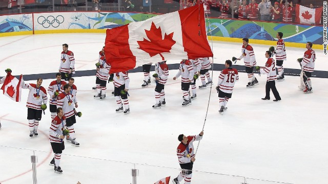 The Sochi Games brings the chance to watch top National Hockey League players face-off for national pride. NHL star Sidney Crosby, carrying the flag here, led Canada to gold in 2010 with victory over the U.S. in the final. Can he repeat the success in Sochi?