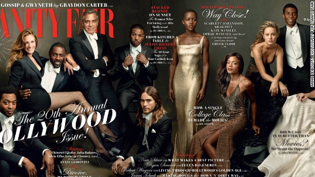 Vanity Fair Praised For Diverse Hollywood Issue Cover
