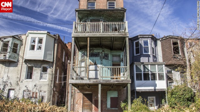 After decades of population loss, Baltimore has thousands of vacant and blighted homes. The city plans to demolish some 1,500 row houses over the next few years to make way for redevelopment.