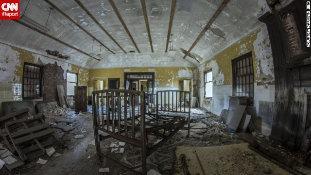 Forest Haven in Laurel, Maryland, was founded in 1925 as a home for mentally disabled children and adults. It was ordered shut down in 1991. Medical records, children's assignments, books and X-ray equipment can still be found inside the abandoned hospital.