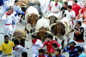 Encierro de toros (España))