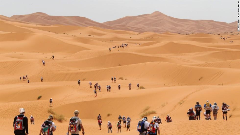 Maratón de Sables (Marruecos)
