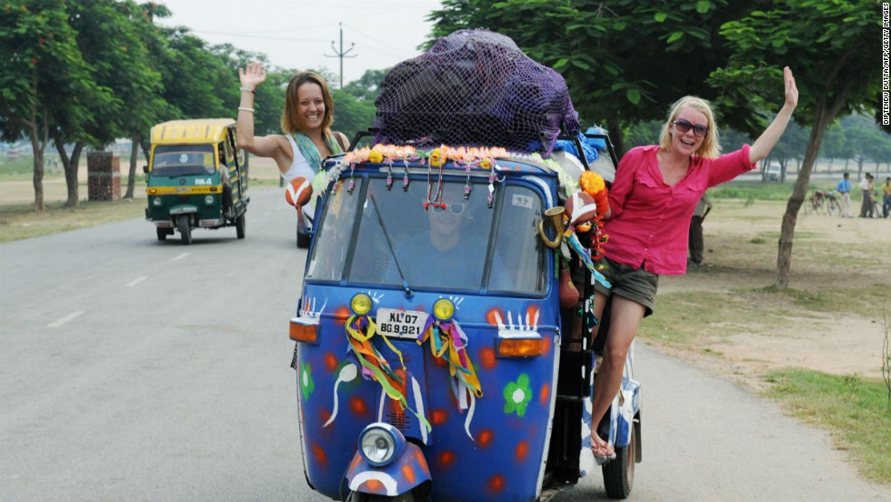 Carrera de rickshaw (India)