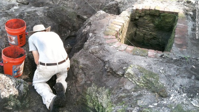At the site of an extensive development project in downtown Miami, archaeologists say they have uncovered a village dating back to 500-600 B.C.