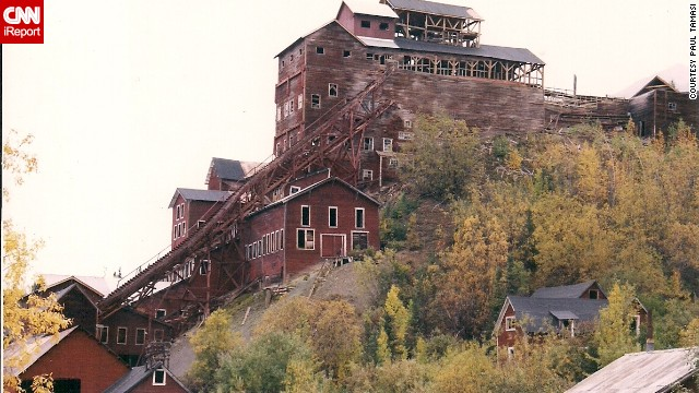 """Deserted since 1938, much of the Kennecott copper mining town in Alaska looks as it did when it was still inhabited. """"I took pictures of the grocery store and a hospital where I peeked in windows and could see hospital beds still there. It was incredible, like being in another world,"""" <a href='http://ireport.cnn.com/docs/DOC-1076804'>Paul Tamasi</a> said."""