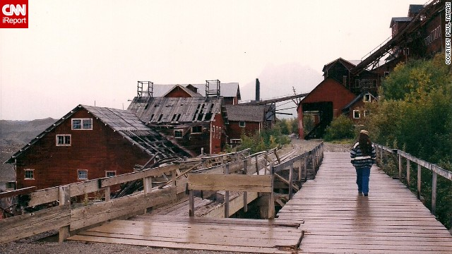 """Once the precious ore ran out and the Kennecott Copper Corporation closed, """"Kennecott became a ghost town overnight,"""" Tamasi said. <!-- --> </br><!-- --> </br>Click the double arrow to see more photos."""