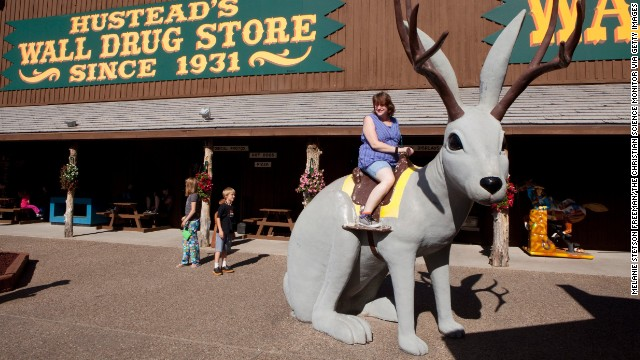 Wall Drug is 76,000 square feet of Americana. In business since 1931, the store in Wall, South Dakota, is one of America's best-known roadside attractions.