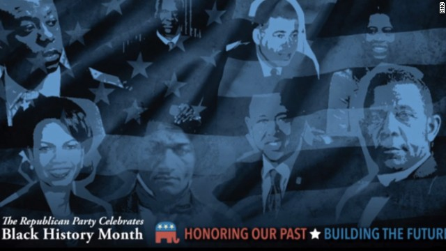 The Republican National Committee is launching its first paid ad campaign in recognition of Black History Month.