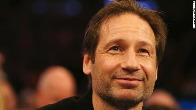 Actor David Duchovny appears in a commercial touting the Russian beer Siberian Crown.