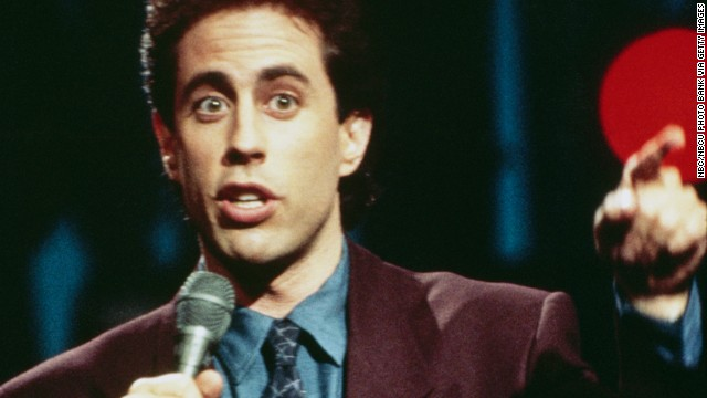 When his series first premiered in 1989, Seinfeld was best known as a stand-up comic who made the rounds of the late-n