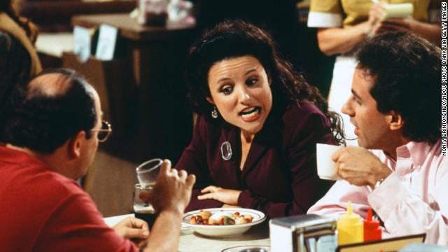 Julia Louis-Dreyfus, who played Elaine Benes, was the reigning queen of the cast.