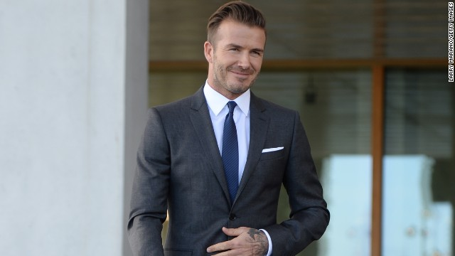 "Since retiring from soccer, Beckham has tried his hand at acting. It was announced in March that he will appear in a special edition of the UK classic sitcom, ""Only Fools and Horses,"" to raise money for a good cause."