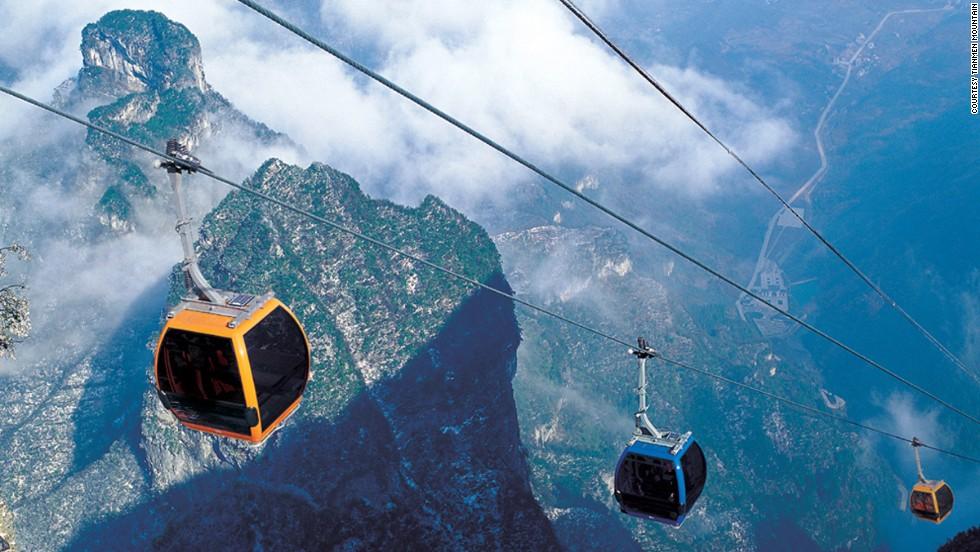 El teleférico más largo (China)