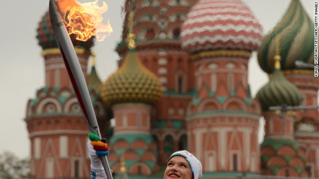 Sochi will be a smoke-free Olympics -- tricky for cigarette-loving Russians. One whipped out a lighter and re-lit the Olympic flame last year.