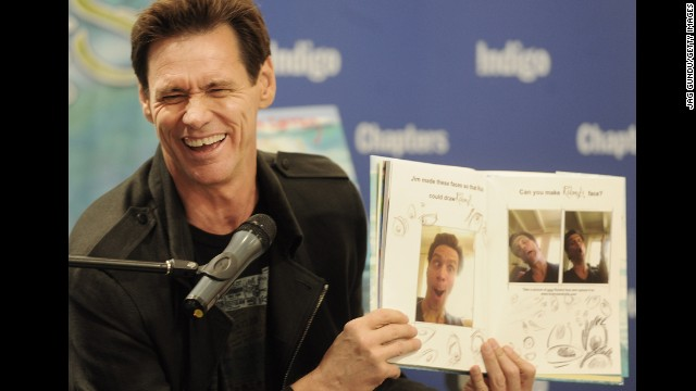 """Jim Carrey, wild man of """"The Mask"""" and """"Ace Ventura,"""" is actually a buttoned-up Canadian underneath that rubbery exterior. He was born in Newmarket, Ontario, just north of Toronto."""
