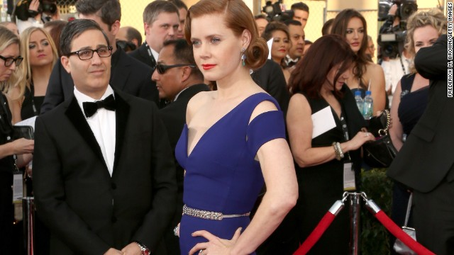 Amy Adams was actually born in Vicenza, Italy, while her father was in the U.S. military. She grew up in Colorado.