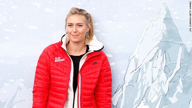 Maria Sharapova lived in Sochi for a few years after moving to the city with her family at the age of 2.