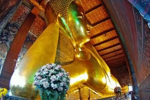 Buda reclinado, Tailandia