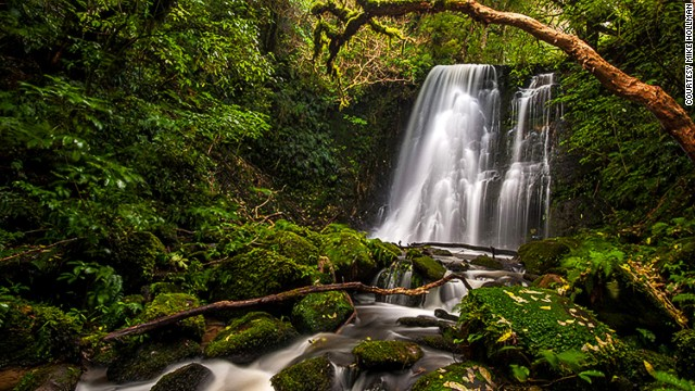 In the running for the country's most beautiful waterfall.