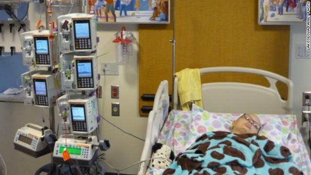 Daniela underwent a stem cell transplant in November 2009.