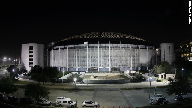 The Houston Astrodome was the first indoor stadium in the world when it opened in 1965 but hasn't been home to a sports team since 1999.