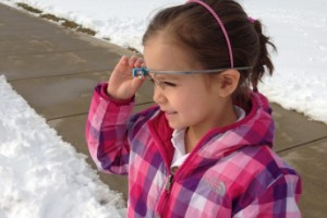 Qué ven los niños a través de Google Glass
