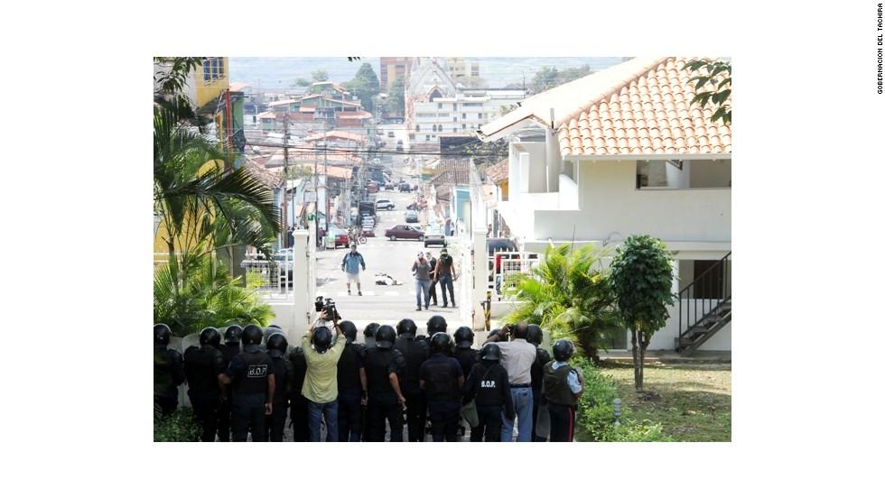 Enfrentamientos en Táchira