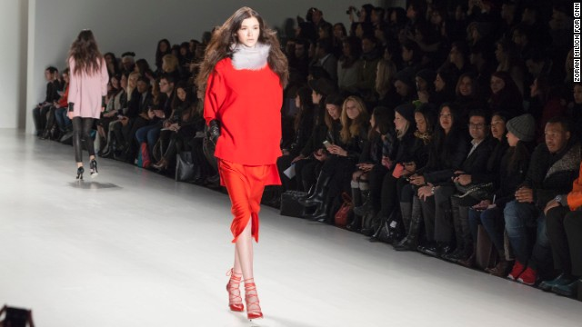 Marissa Webb, the former head designer for J. Crew, showed her own line on the first day of Mercedes-Benz Fashion Week.