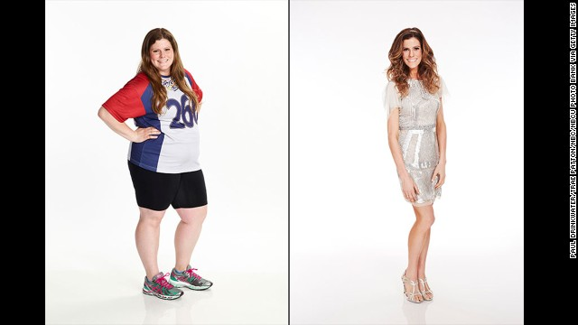 "When ""The Biggest Loser"" contestant Rachel Frederickson showed just how much weight she lost on the NBC competition -- 155 pounds, to be exact -- not everyone was impressed. A number of viewers expressed concern that she had become ""too skinny,"" although Frederickson said that she feels fine."