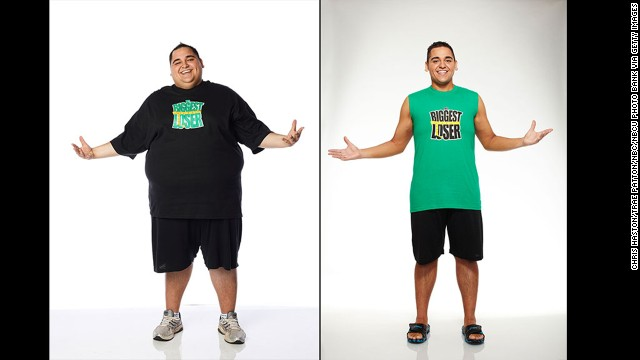 Season 13 champ Jeremy Britt lost an astonishing 199 pounds from a high of 389, effectively shedding more than half of his body weight during the 2012 competition. His weight loss was actually a family affair: his sister Conda competed with him and lost 115 pounds along the way, and his effort inspired his mom to lose 50 pounds as well.