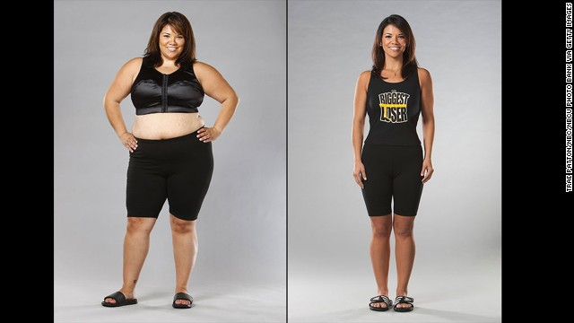 "Michelle Aguilar's 100-pound weight loss on season 6 of ""The Biggest Loser"" was more than just a physical change. ""Not only did it show me that I was capable of more than I believed I was, but it also helped me to truly find myself,"" she said. ""I learned to change from the inside out."""
