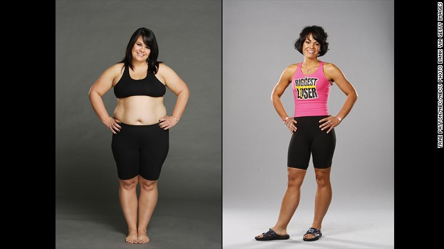 "Season 5's Ali Vincent was the first woman to win the weight-loss competition. She slimmed down to 124 from her starting weight of 234, a journey she reflected on in her book, ""Believe It, Be It: How Being The Biggest Loser Won Me Back My Life."""