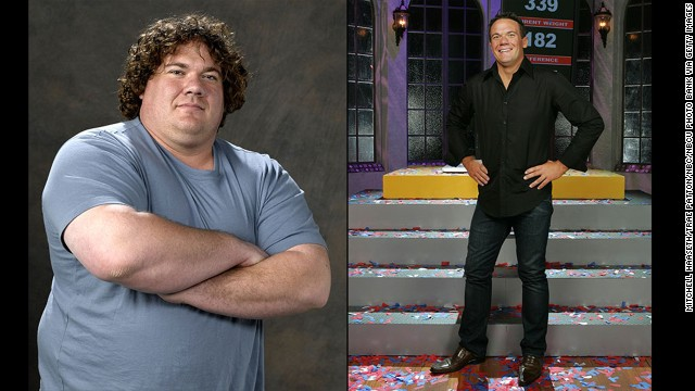 "Matt Hoover's 157-pound weight loss propelled him to ""Biggest Loser"" status during the show's second season. He walked away with more than just $250,000, though: Hoover wound up marrying his competitor, Suzy, in 2006."