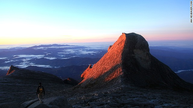 At 4,092 meters, the stunning St. Johns Peak is only three meters shorter than Mount Kinabalu's true summit, Low's Peak. It was named after Spencer St John, the former British Counsel in Brunei who joined the second and third documented climbs of Mount Kinabalu in April and July of 1858.