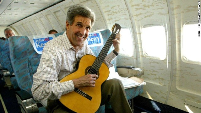 Political Circus: Kerry's a soul man. Clinton lights up the Web. And Biden is...