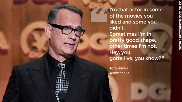 Famous Tom Hanks Movie Quotes: Twitter Unearths Your First Tweet