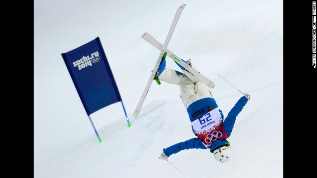 South Korea's Seo Jung-Hwa competes in the women's moguls.