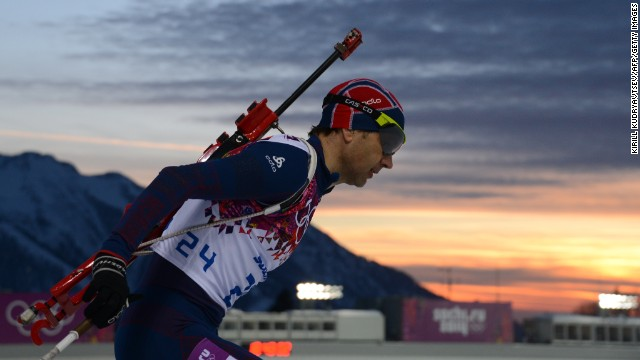 Keep an eye on Norway's Ole Einar Bjoerndalen, the Michael Phelps of the Winter Games.