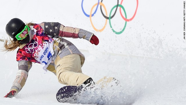 Jamie Anderson made it two gold medals for the United States in slopestyle after the success of Sage Kutsenburg in the men's competition.