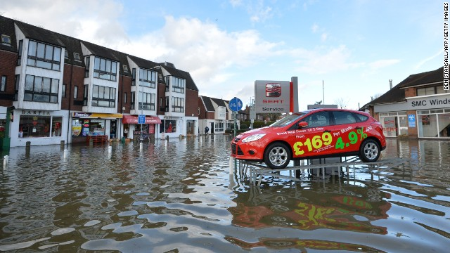 Flooding crisis in Great Britain