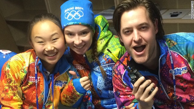 From Russia with love: Sochi volunteers give good vibes
