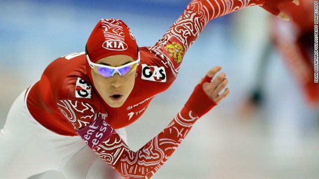 """This will be vital to help popularize the kind of sport I participate in across my country,"" says Russian speed skater Ekaterina Lobysheva. ""We used to be very good in these disciplines but did not always have the places to train or to compete in, but now we do!"""
