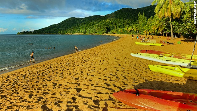 Don't like being hassled by beach vendors? You won't be in Guadeloupe, with 200-plus public beaches that stand out for their natural state and lack of salesmen or towering resorts.