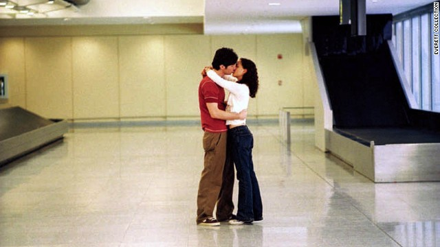 Heavily medicated Andrew Largeman (Zach Braff, who wrote and directed the film) and pathological liar Sam (Natalie Portman) say goodbye -- and hello again -- at the airport, not knowing what they'll do next.