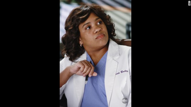 "Chandra Wilson as Dr. Miranda Bailey in ""Grey's Anatomy."""
